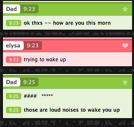 dad instant messanger