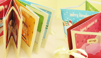 story book pop up calendar