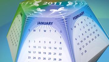 hexahedral calendar