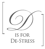 d is for de-stress