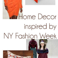 Use New Year Fashion Week to Inspire your Home Decor | Genpink