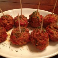 meatball appetizer