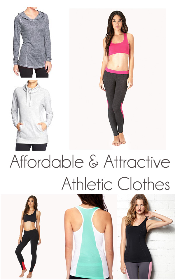 Affordable and Attractive Athletic clothes