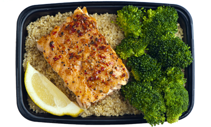 Atlantic Bake Salmon credit: My Fit Foods