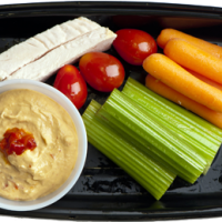 Healthy Hummus Bowl