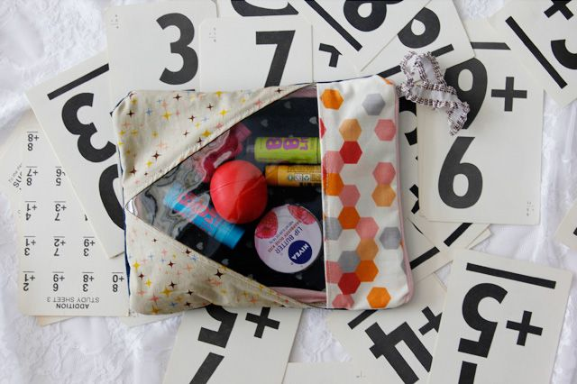 DIY gift: sewing tutorial + fav lip products