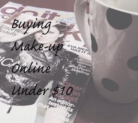 Buying Makeup Online