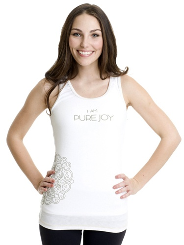 I Am Pure Joy workout tank from AZIAM // Ladies activewear for every budget