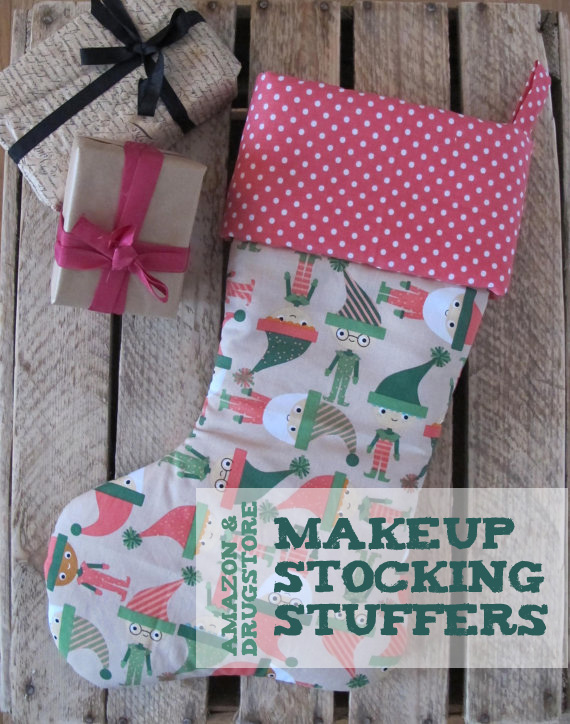 Drugstore Makeup Stocking Stuffers (also available on Amazon)