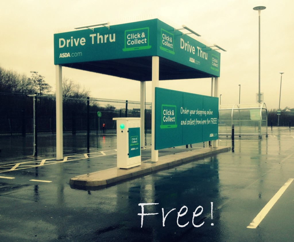 Drive-thru ASDA grocery in Ireland // A healthy, family friendly meal for under £10? #shop, #cbias