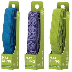 gaiam sling bag plus more mags and mats on genpink
