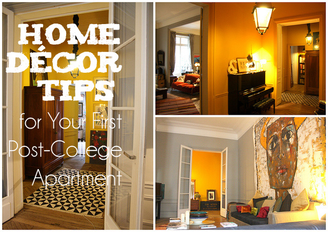 Home Décor Tips For Your First Post College Apartment