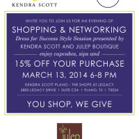 Levo Shopping party with Kendra Scott // via GenPink.com