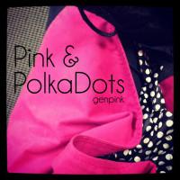 OOTD: Pink + Polka Dots | Genpink