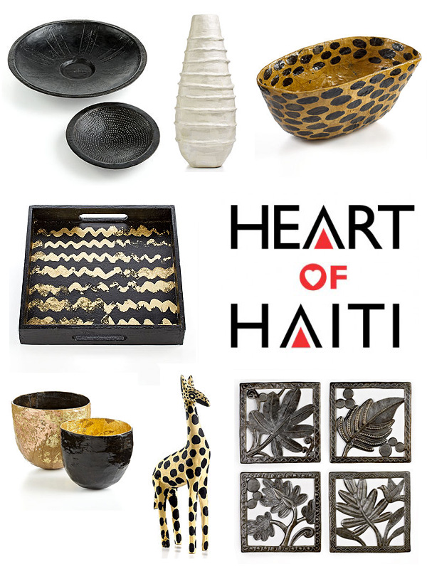 Shop for a Cause with Macy's Heart of Haiti handmade line   Genpink