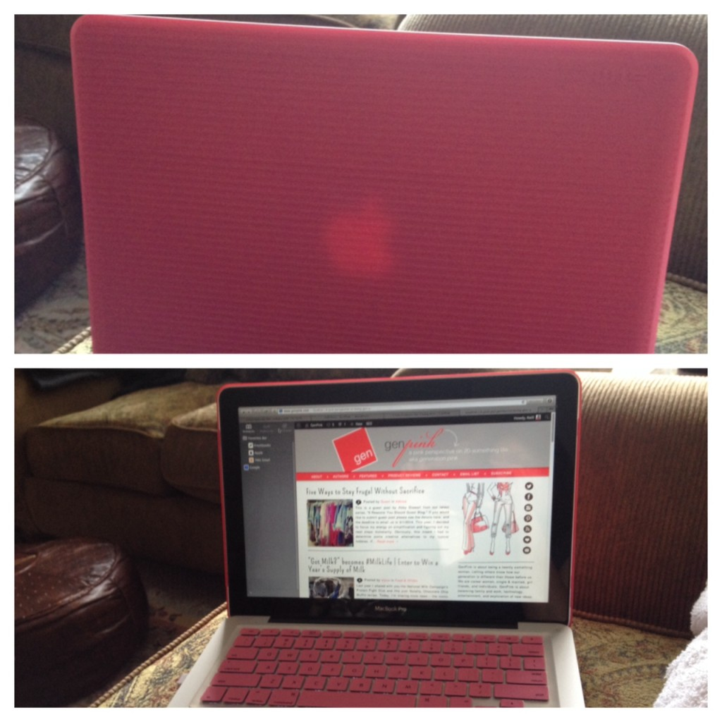 genpink laptop cover giveaway