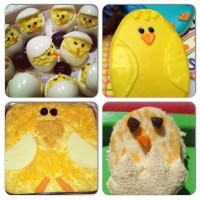 Easter Chick-themed Eats for the Change-O-Phobe// GenPink