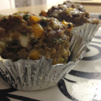 Clean Out Your Fridge Muffin-Tin Meatloaf with Progresso Recipe Starters