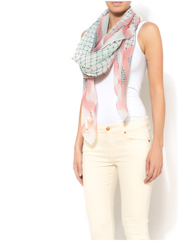 Fashion: Colorful Spring Scarves
