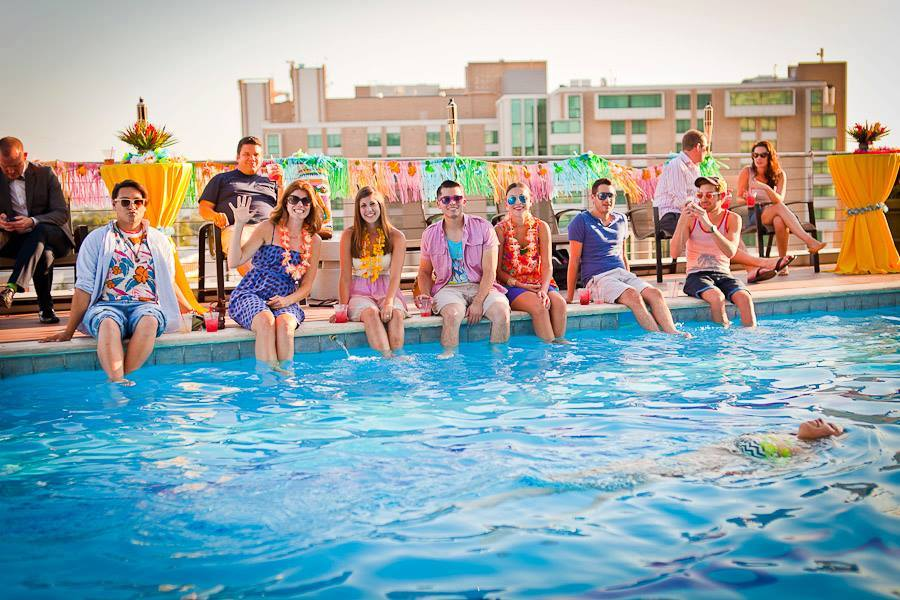 mockingbird station summer pool party via genpink.com
