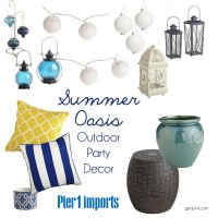 Pier 1: Outdoor Decor Summer 2014 | Genpink