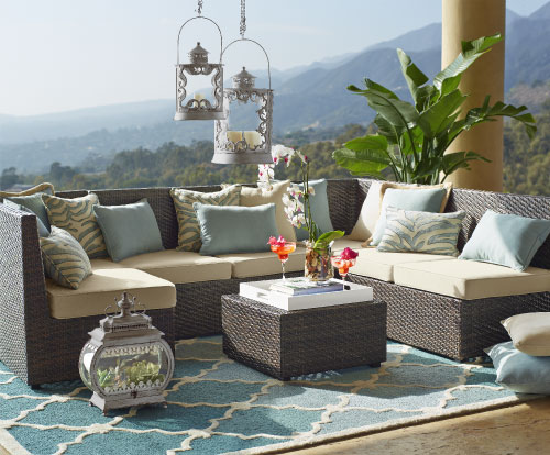 Plan a Summer Oasis in Your Own Backyard! // Pier 1 Imports // Genpink