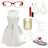 Kate Spade NY Glasses + outfit // Genpink
