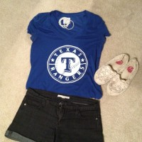 summer baseball outfit via genpink.com