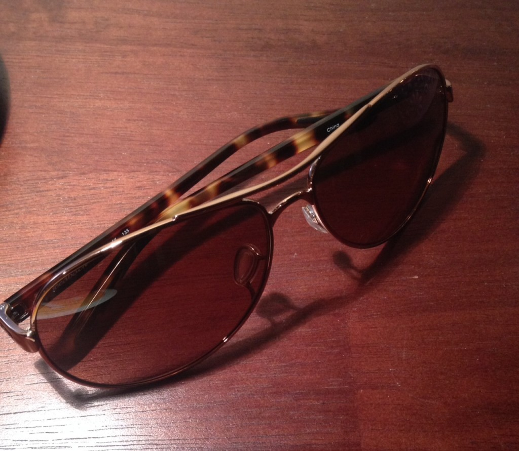 rosegold oakley sun glasses via genpink