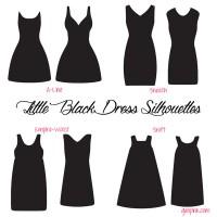 little-black-dress-silhouet