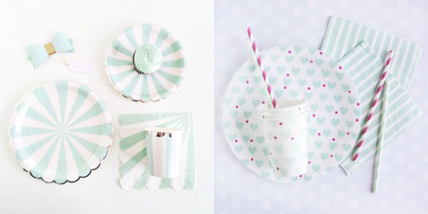 Mint To Be Wedding Shower Theme