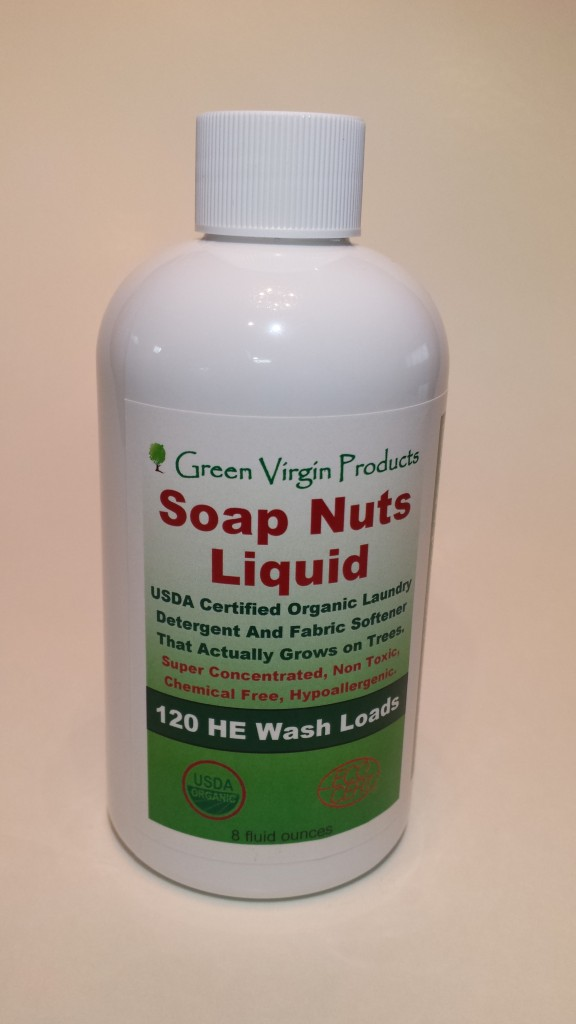 soap nuts liquid for $18.95 and lasts 120 loads via genpink.com