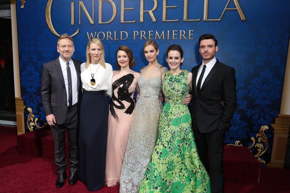 cinderella movie premier via genpink.com
