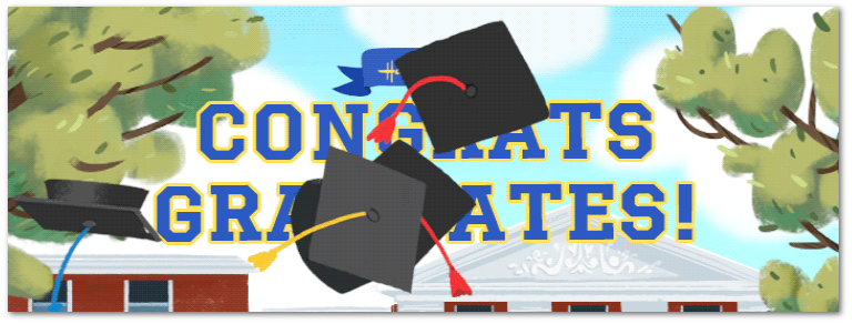 Graduation e-cards from Hallmark