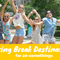 spring break destinations for gen-Y via genpink.com