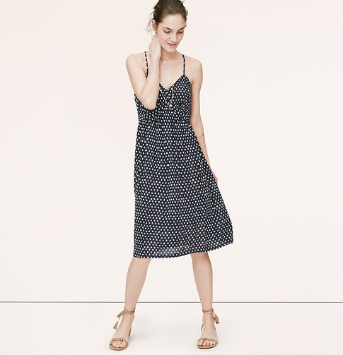 summer dress by loft via genpink.com