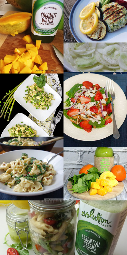 I asked some blogger friends for some additional recipes to help integrate more greens in your life. I can't wait to try some of these