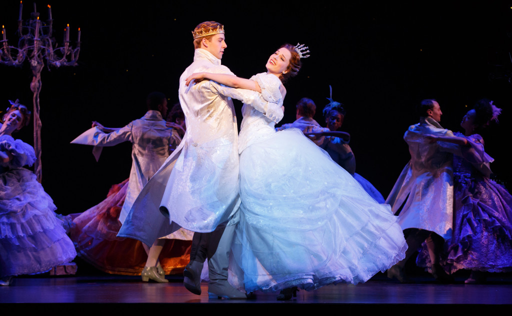 Cinderella Dancing with the Prince
