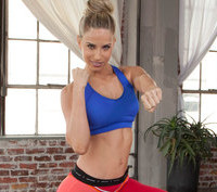 cosmobody kickboxing video at home via genpink.com