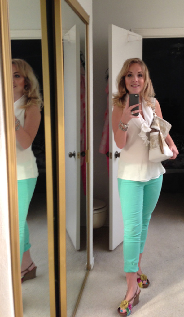 summer pants for the working girl via genpink.com