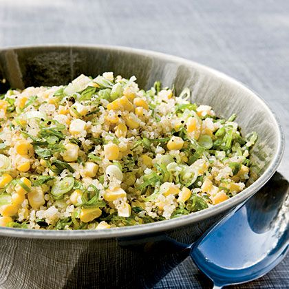 Quinoa Corn Mint Salad | 8 Recipes For The End Of Summer