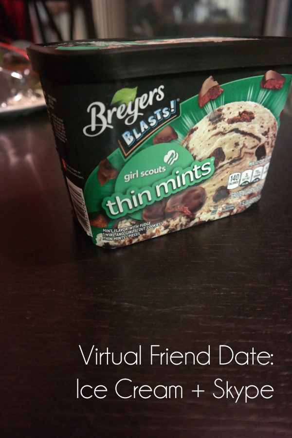 Ice Cream and a Virtual Friend Date | Genpink