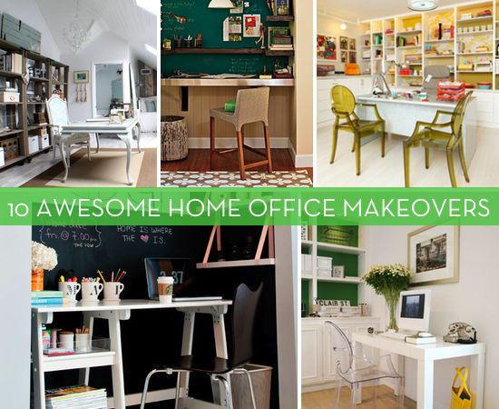 home office makeover pinterest. 10 Awesome Home Office Makeovers / Geek Girl :: 6 Tips For Giving Your Home Office Makeover Pinterest N