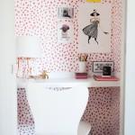 Wall Paper Closet Office