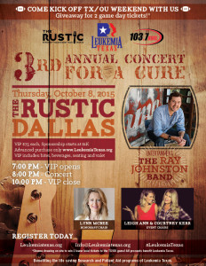 2015 Leukemia Texas Concert