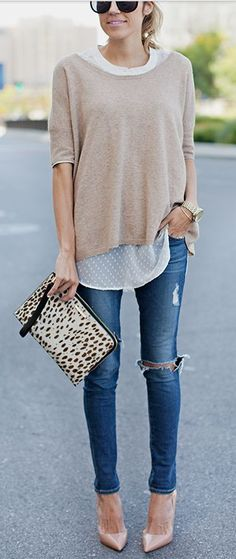 Distressed Skinny Jeans | Fall Fashion Favs to Keep You in Style