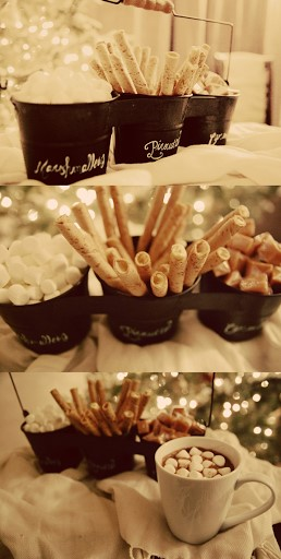Keeping Winter Wonderful! / Hot Beverage Bar - fun for Christmas or New Years