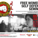 Nov 21st Free Self Defense Course-Chamberlain Studios