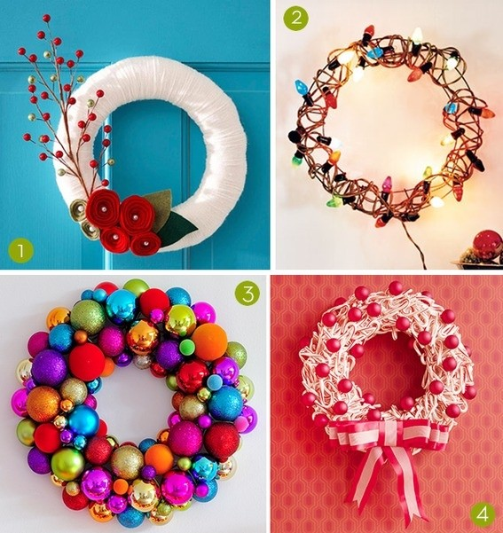 Making Happy Holidays All Year Round | DIY Holiday Wreaths