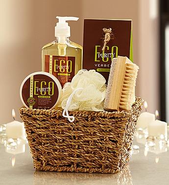 spa basket as a get well gift via genpink.com